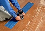 Gap filling & Finishing services provided by trained experts in Floor Sanding Balham